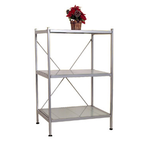 BF-S763 Glass Shelving Unit